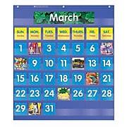 Teacher's Friend Pocket Charts, Monthly Calendar, Grades K-5