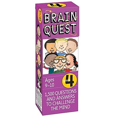 Workman Publishing Brain Quest Book, Grades 4th, 2 EA/BD