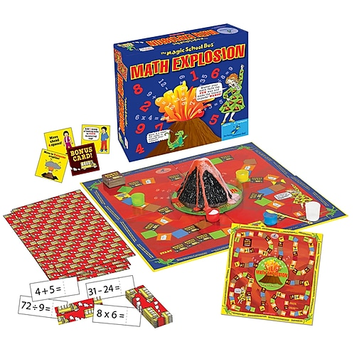 Young Scientist Club The Magic School Bus Math Explosion Game (YS-WH9251157)