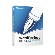 Corel – WordPerfect Office X9, Standard, anglais