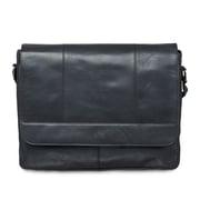 Mancini – Sac messager 99-5468-Black pour portatif de 15 po avec poche anti-RFID, 16,25 x 3,25 x 12 (po)