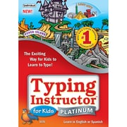 Logiciel de dactylographie Typing Instructor for Kids Platinum, anglais [téléchargement]