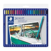 Staedtler 157 SB24, Ergosoft Coloured Pencils, 24 Assorted Colours