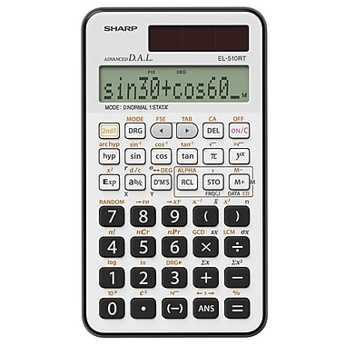 Sharp® EL510RTB Scientific Calculator (169 Functions)