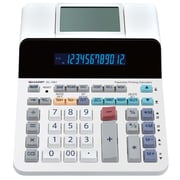 Sharp® 12-Digit Paperless Printing Desktop Display Calculator (ELDP9001)