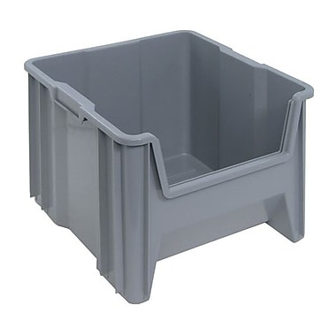 Quantum Giant Stacking Containers, Grey (CD578)
