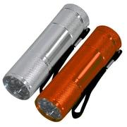 Kubota 2pc 9 LED Flashlight Combo, 3/Pack (12171)
