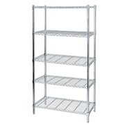 Hardware Machinery 5 Shelf Chrome Storage Unit 999352)