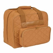 "Vivace Sewing Machine Tote, Camel, 17"" x 8"" x 13"" (3025894)"
