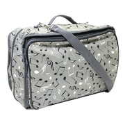 """Vivace Craft/Accessories Tote, Music Notes, 13"""" x 10"""" x 5"""" (3028008)"""