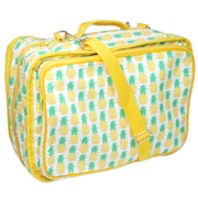 """Vivace Craft/Accessories Tote, Pineapples, 13"""" x 10"""" x 5"""" (3028018)"""
