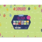 "TF Publishing 2019 Monthly Theme Desk Pad Calendar, 22"" x 17"" (19-8024)"