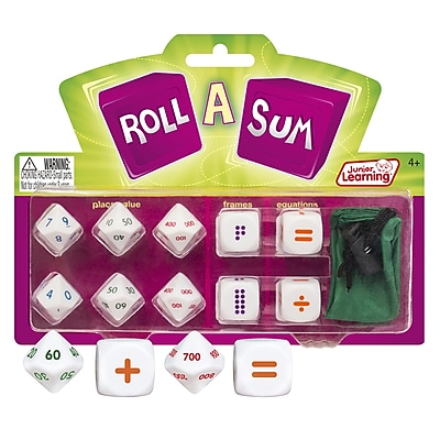 Junior Learning Roll A Sum (JRL146)