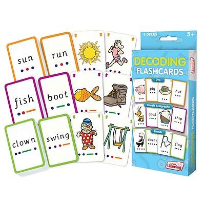 Decoding Flash Cards for grades K-2, 1 pack of 162 cards (JRL211)