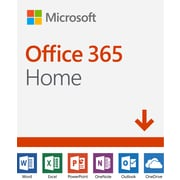 Microsoft Office 365 Home, 1-Year Subscription, 6 Users, Bilingual [Download]
