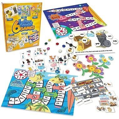 Junior Learning 6 Letter Sound Games, multiColour (JRL400)