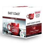 East Coast Coffee, Sailor's Delight, Dark Roast, Recyclable, 24/Pack