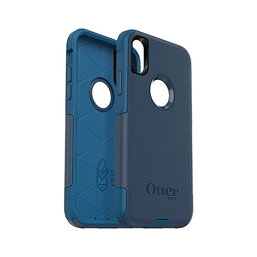 separation shoes 20e0e dee99 OtterBox® Commuter Case For iPhone X, iPhone Xs, Bespoke Way Blue (77-59511)