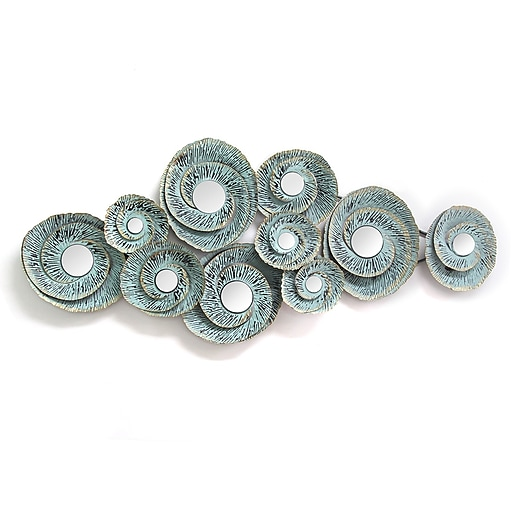 17df39793c4 Stratton Home Decor Decorative Waves Metal Wall Décor (S01293).  https   www.staples-3p.com s7 is