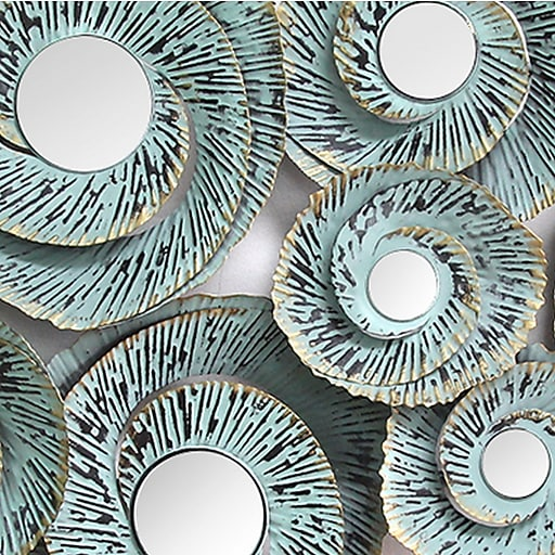 cbc0c265b0b Stratton Home Decor Decorative Waves Metal Wall Decor (S01293)