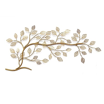 Stratton Home Decor Gold Tree Branch Wall Décor (S01296)