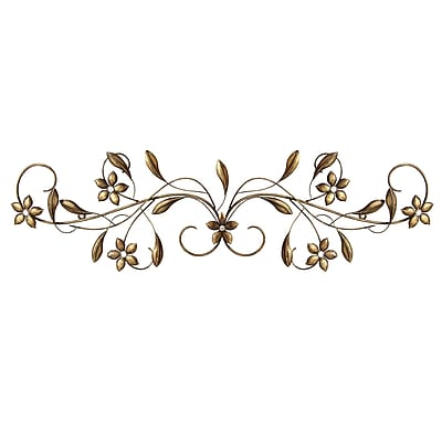 Stratton Home Decor Vintage Scroll Wall Décor,  (S01302)