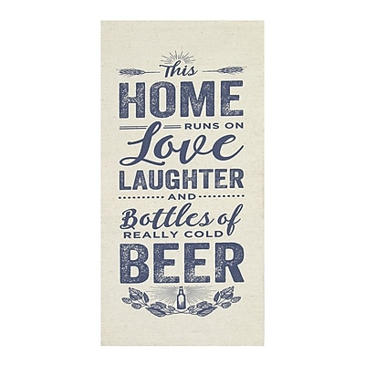 Stratton Home Decor Home, Love and Beer Wall Art (S02991)