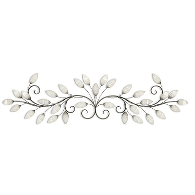 Stratton Home Decor Brushed Pearl Over the door Wall Décor (S07736)