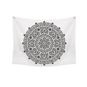 "Stratton Home Decor Mendi Wall Tapestry 50""H x 57.5""W (S07748)"