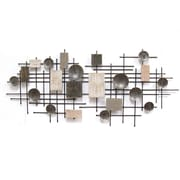 "Stratton Home Decor Large Modern Industrial Wall Décor, 23.62""H x 53.15""W (S09559)"