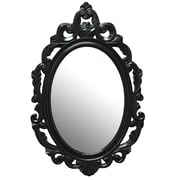 Stratton Home Decor, Black Baroque Mirror (SHD0059)