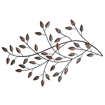 Stratton Home Decor Blowing Leaves Wall Décor (SHD0119)