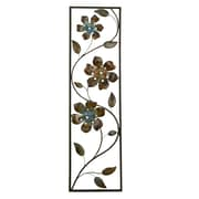 Stratton Home Decor Winding Flowers Wall Décor (SHD0122)