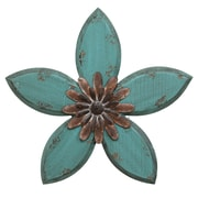 Stratton Home Decor Antique Flower Wall Décor (SHD0165)