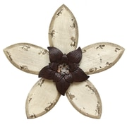 Stratton Home Decor Antique Flower Wall Décor (SHD0166)