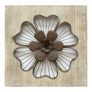 Stratton Home Decor Rustic Flower Wall Décor (SHD0167)