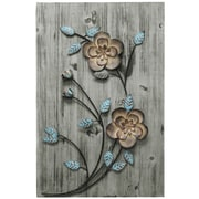 Stratton Home Decor Rustic Floral Panel II (SPC 995)
