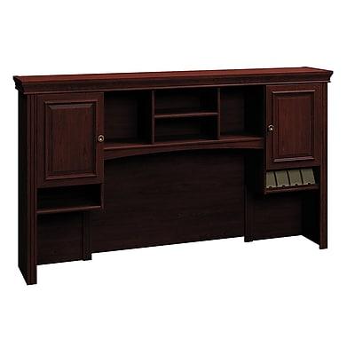 Bush Business Furniture Syndicate 72W Hutch, Harvest Cherry, Installed (6373CS-03KFA)