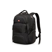"Swiss Gear SWA1456R 17"" Laptop Backpack, Black/Grey"
