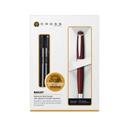 Cross® Bailey Lacquer Ballpoint Pen with Refills, Red
