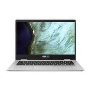 ASUS – Chromebook C423NA-RH91T-CB écran tactile 14 po, Pentium N4200 quatre coeurs 1,1 GHz, eMMC 32 Go, LPDDR4 4Go, Chrome OS