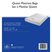 Mattress Bags, Queen, 3mil, 5/Pack