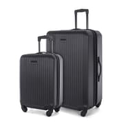 "Bugatti 2-Piece ABS Carry-On & 28"" Luggage Set"