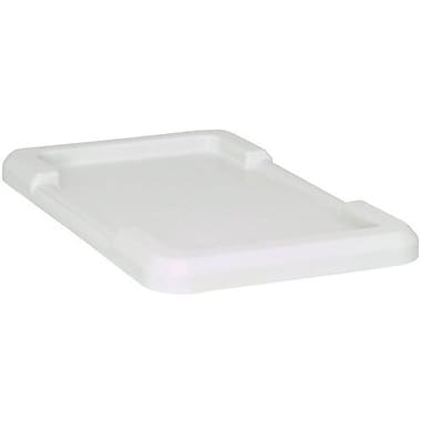 Cross Stack Tote Lids, White, 3/Pack (CF019)