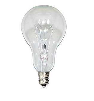 Bulbrite Incandescent 60-Watt A15 Dimmable Warm White Light Incandescent Light Bulb, 12 Pack (860861)