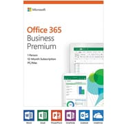 Microsoft Office 365 Business Premium 1-Year, 1-User, English