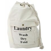 904c878fec Cathay Importers White Canvas Laundry Bag (EC-18-0172)