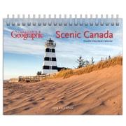BrownTrout – Calendrier chevalet à double vue 2019, Paysages canadiens, 7,5 po x 6 po (9781525603198)