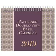 Browntrout - Calendrier de chevalet 2019 à motif, double vue, 7,5 po x 6 po (9781525603211)