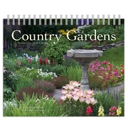Browntrout - Calendrier chevalet 2019 Country Gardens, double vue, 7,5 po x 6 po (9781525603228)